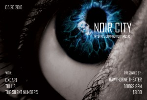 Portland Band Noir City Flyer