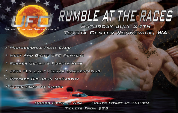 UFO MMA Handout July 24th Kennewick, WA